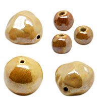 Taupe Pearlized Beads