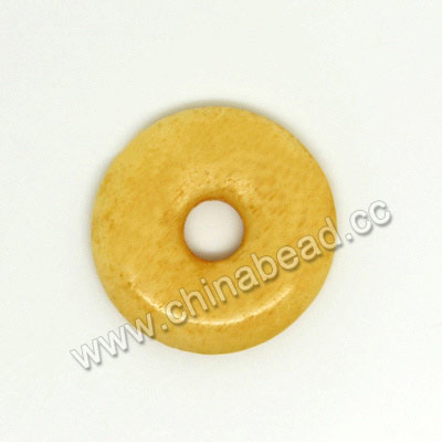 Carved Bone Beads, Ivory, Smooth Donut, Approx 15x2mm, Hole: Approx 4mm, Sold by PCS