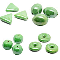 Light Green Pearlized Beads
