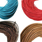 2.5mm Round Leather Cord