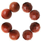 Brown Goldstone Beads
