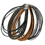 Leather Cord Fashion Necklace