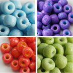Opaque Colors Glass Seed Beads