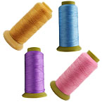 15 folded Beading Thread