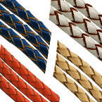 6mm Woven Leather Cord A