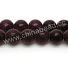 Gemstone Beads, Candy Jade, Color #08 purple, Smooth round, Approx 8mm, Hole: Approx 1.2mm, 50pcs per strand, Sold by strands