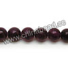 Gemstone Beads, Candy Jade, Color #08 purple, Smooth round, Approx 10mm, Hole: Approx 1.2mm, 40pcs per strand, Sold by strands