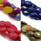 13x18mm Faceted Oval