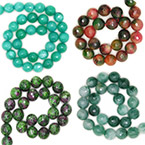8mm Faceted Round Beads