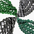 15x6mm Faceted Disc Beads