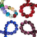 Fancy Speckle Glass Beads