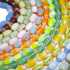 Smooth Oval Beads