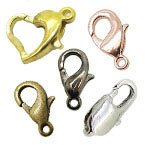 Brass Lobster Claw Clasps