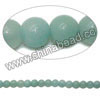 Gemstone Beads, Amazonite, Grade A, Smooth round, Approx 4mm, Hole: Approx 0.8mm, 95pcs per strand, Sold by strands