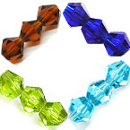 Bicone Crystal Beads