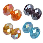 Rondelle Crystal AB Beads