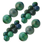 Chrysocolla Beads