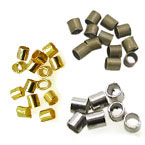 Brass Tube Crimp Beads