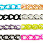 Iron Twisted Oval Chains
