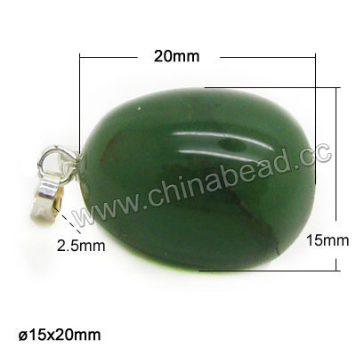 Fashion gemstone pendants, Assorted gemstone eggs, Nice natural pattern, Approx 15x20mm, Hole: Approx 2.5mm, 20 pieces per box, Sold by boxes