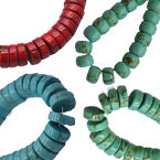 Colorful Turquoise Beads