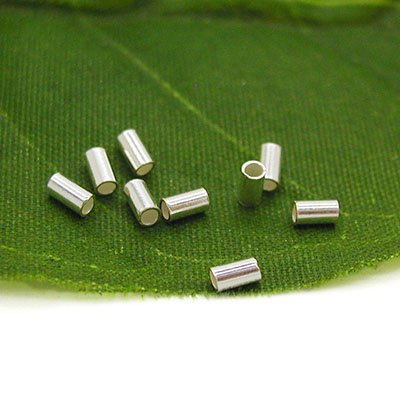 Sterling Silver Crimp Beads