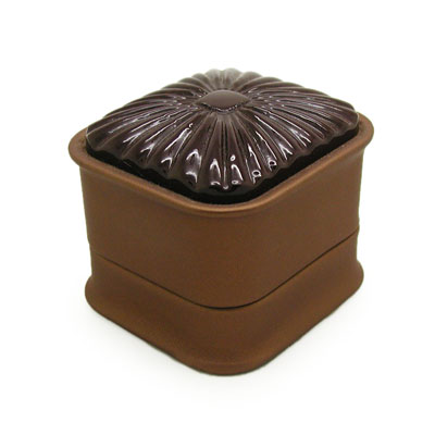 Ring PU Leather Gift Boxes