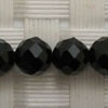Gemstone spinel beads, Black, Faceted round, Approx 6mm, Hole: Approx 1mm, 69 pieces per strand, Sold by strands