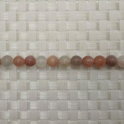 Gemstone multi-colored moonstone beads, Smooth round, Approx 8mm, Hole: Approx 1mm, 50 pieces per strand, Sold by strands