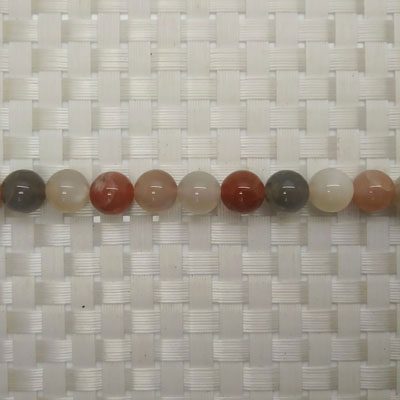 Gemstone multi-colored moonstone beads, Smooth round, Approx 10mm, Hole: Approx 1mm, 40 pieces per strand, Sold by strands