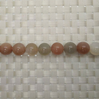 Gemstone multi-colored moonstone beads, Smooth round, Approx 12mm, Hole: Approx 1mm, 33 pieces per strand, Sold by strands