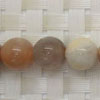 Gemstone multi-colored moonstone beads, Smooth round, Approx 10mm, Hole: Approx 1mm, 38 pieces per strand, Sold by strands
