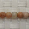 Gemstone sunstone beads, Smooth round, Approx 6mm, Grade B, Hole: Approx 1mm, 65 pieces per strand, Sold by strands