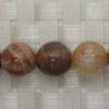 Gemstone sunstone beads, Smooth round, Approx 10mm, Grade B, Hole: Approx 1mm, 39 pieces per strand, Sold by strands