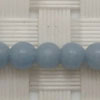 Gemstone angelite beads, Smooth round, Approx 4mm, Hole: Approx 1mm, 95 pieces per strand, Sold by strands