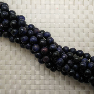 Purple Tigereye Beads