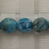 Gemstone apatite beads, Faceted round, Approx 6mm, Hole: Approx 1mm, 65 pieces per strand, Sold by strands