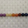 Gemstone colorful beads, Smooth round, Approx 8mm, Hole: Approx 1mm, 50 pieces per strand, Sold by strands