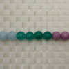 Gemstone colorful beads, Smooth round, Approx 10mm, Hole: Approx 1mm, 40 pieces per strand, Sold by strands
