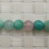 Gemstone multi-colored amazonite beads, Smooth round, Approx 6mm, Hole: Approx 1mm, 65 pieces per strand, Sold by strands
