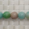 Gemstone multi-colored amazonite beads, Smooth round, Approx 10mm, Hole: Approx 1mm, 39 pieces per strand, Sold by strands