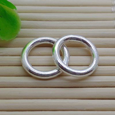 Sterling Silver Closed Jump Rings