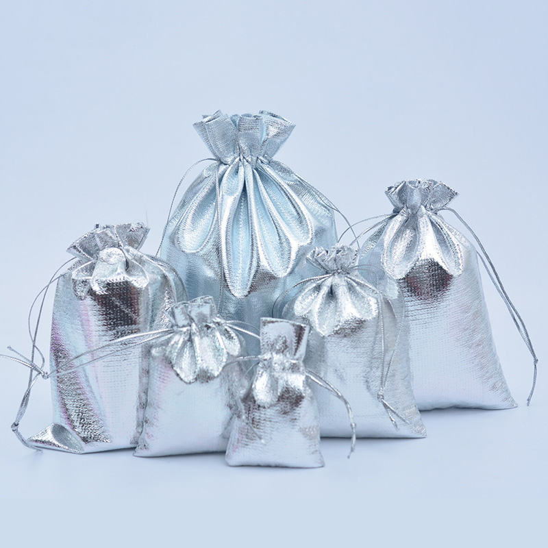 Jewelry drawstring nylon gift pouch, Approx 150x200mm, more colors are available, Accept customized orders, Sold by pieces